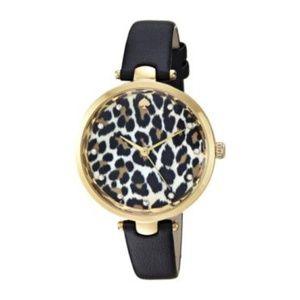 NWT Kate Spade Holland Leopard Watch KSW1370